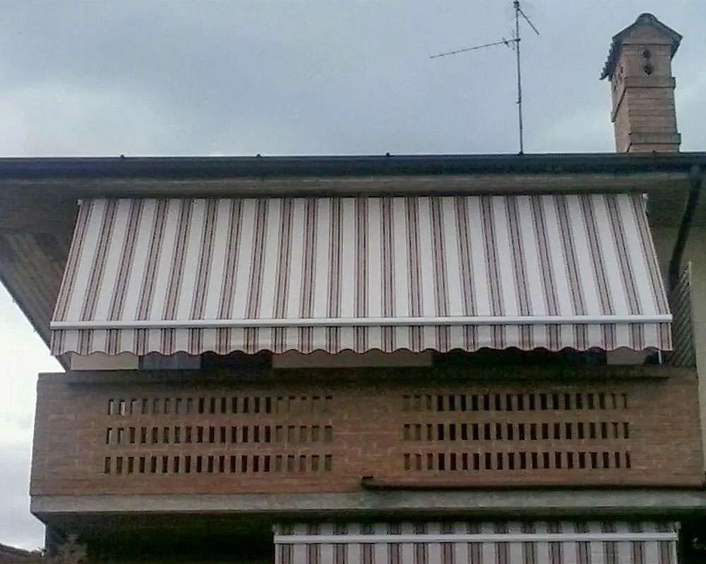 Montaggio Tenda sole esterno barra quadra  Ferramenta