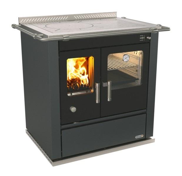 Cucina a legna con forno Rizzoli S80 di Rizzoli Cucine