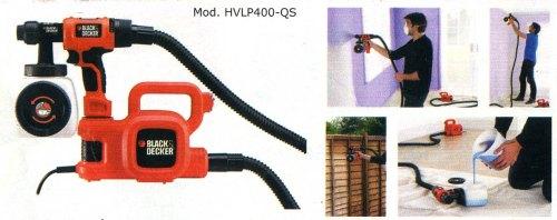 Pistola a spruzzo per pitture murali HVLP400-qs