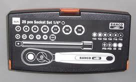 Assortimento chiavi a bussola Bahco SL25
