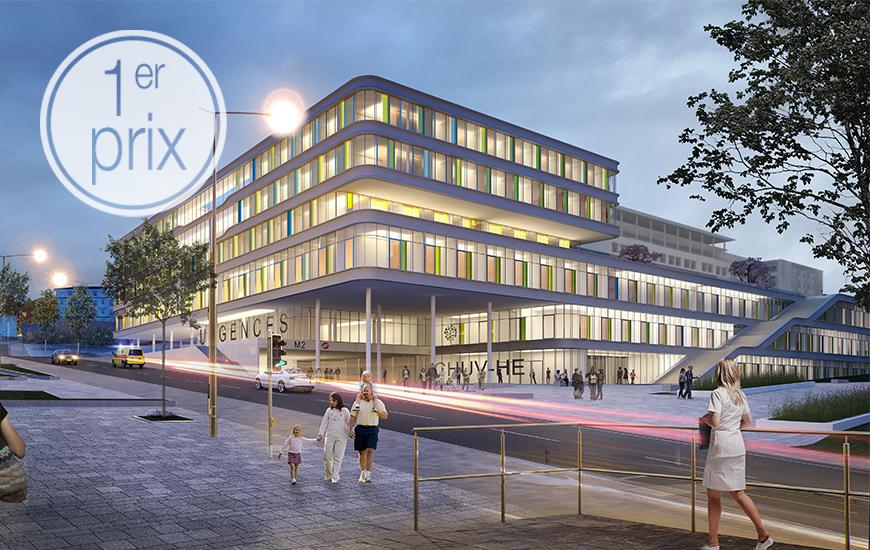 Ferrari Architectes CHUV Hpital Des Enfants Bureau
