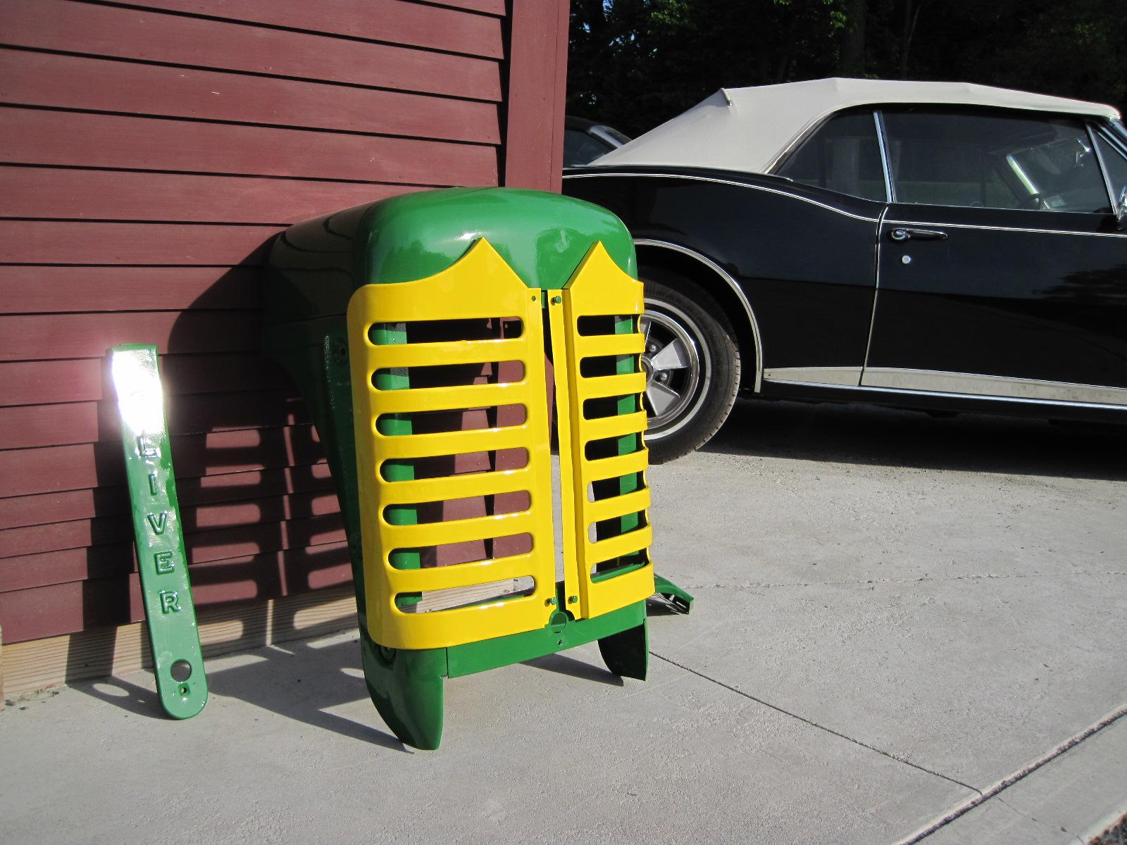 hight resolution of oliver 55 tractor grille rh ferraricraft com oliver super 55 parts for sale oliver super 55