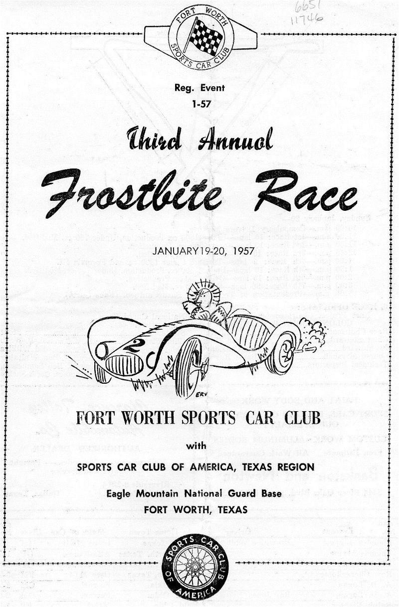 Cliff Reuter Etceterini.com 1957 SCCA Sports Car Race