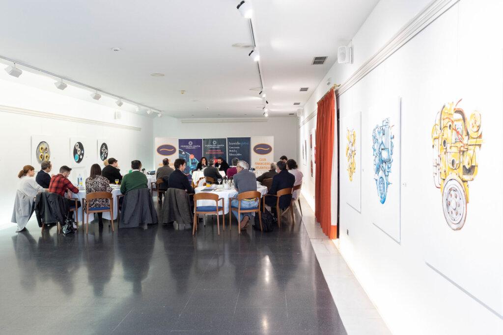Desayuno emprendedor con Alejandra Mosteiro de Extend