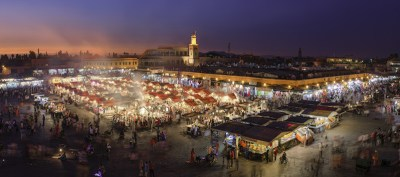 travel on Valentine's Day, Marrakech (Morocco)