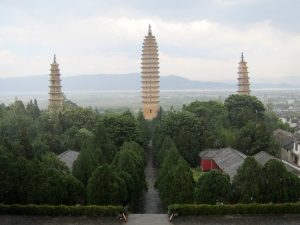 The Three Pagodas of Dali, China