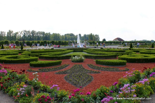 Rundale Palace garden