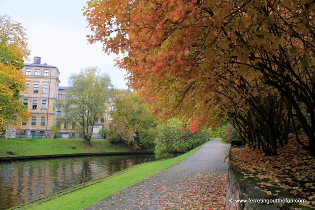 Riga Fall Foliage