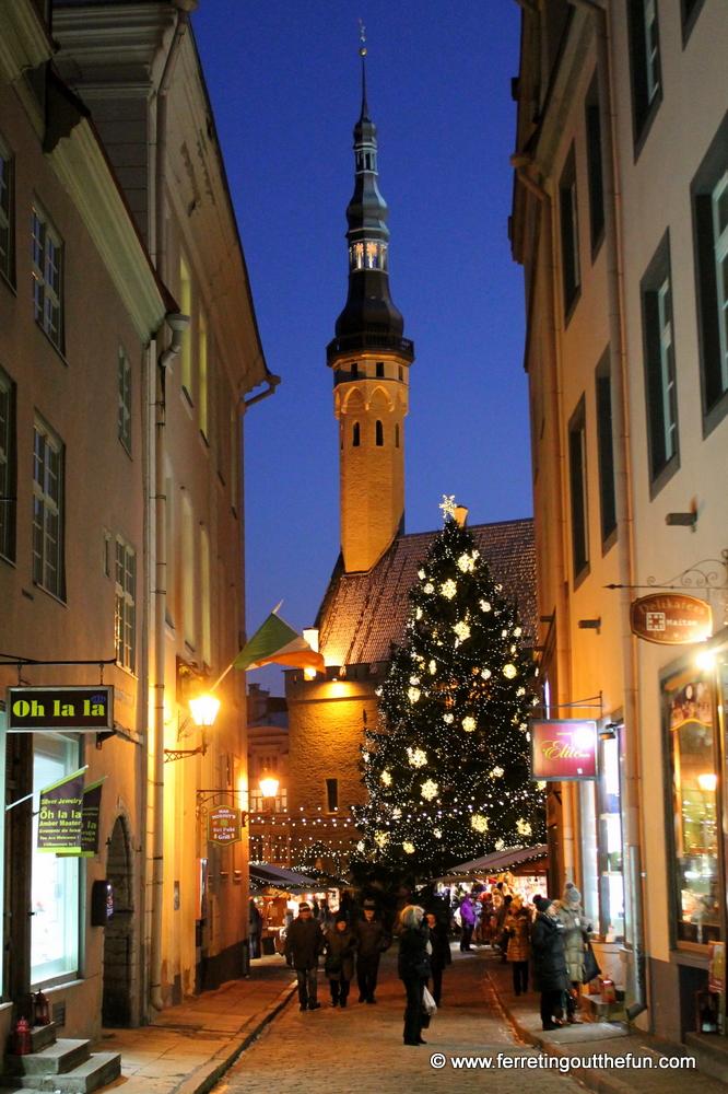 Celebrating Christmas in Tallinn, Estonia