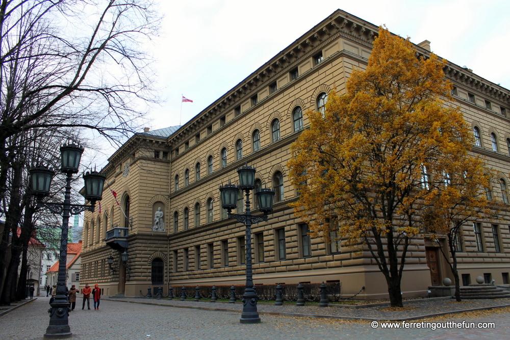 Latvian Parliament Building