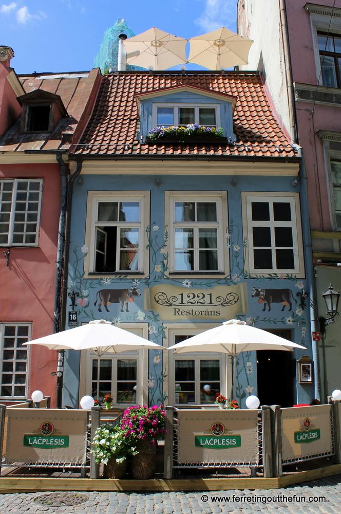 1221 Restorans Riga