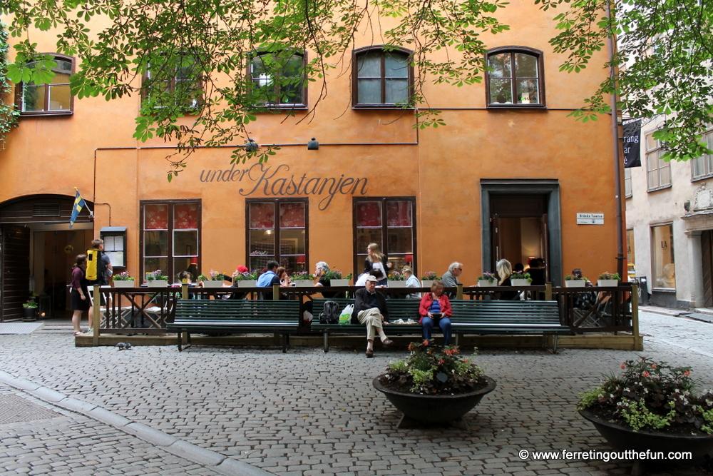 Under Kastanjen Stockholm