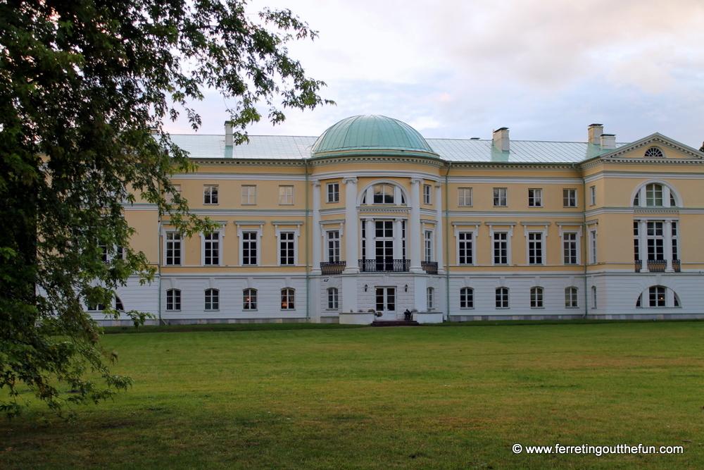Mezotne Palace Latvia