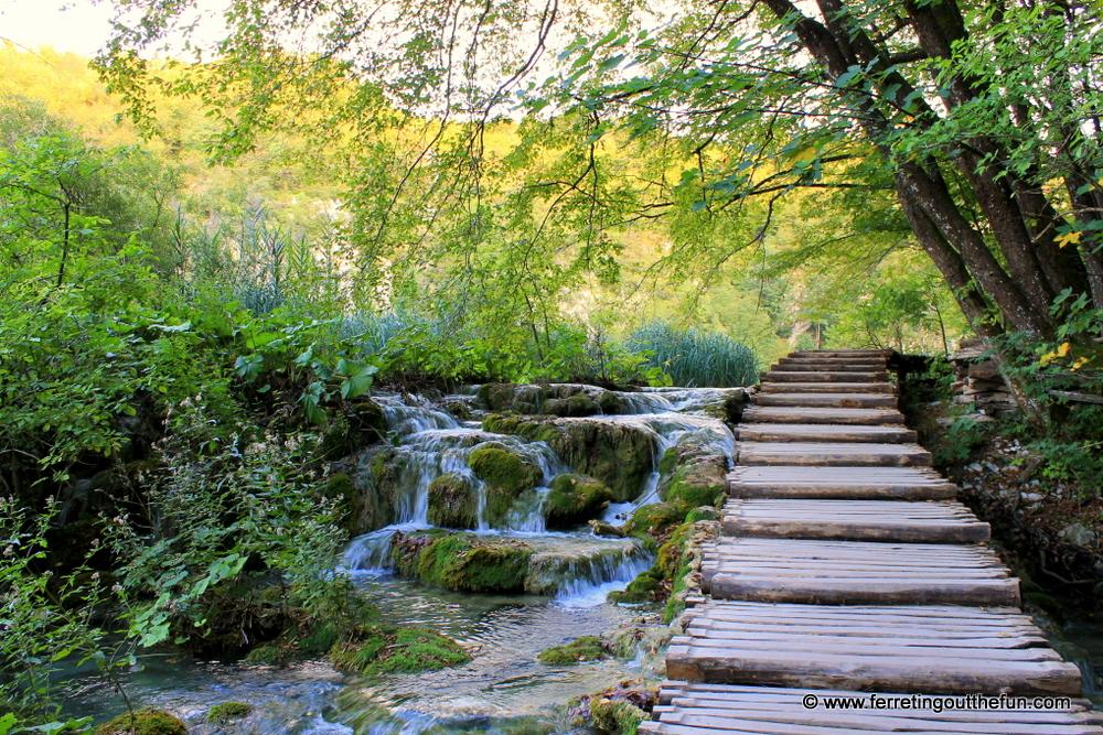 Autumn in Plitvice Lakes Croatia