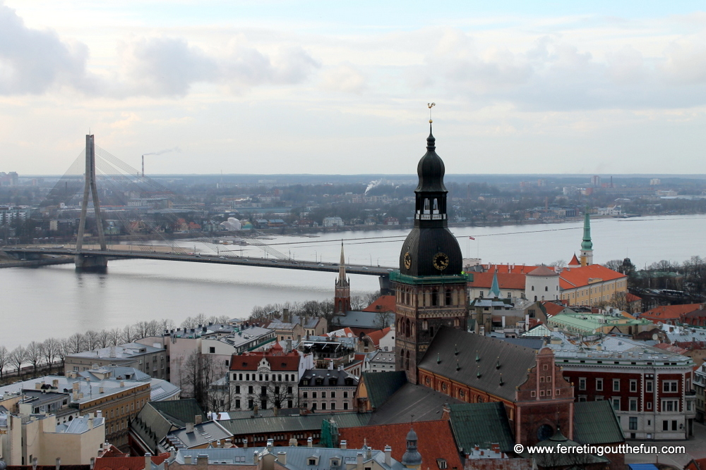 visiting riga in december