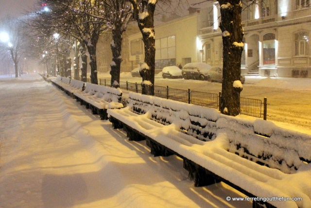 riga winter snowstorm