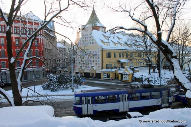 riga pictures winter