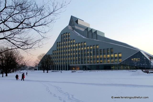 latvian national library riga