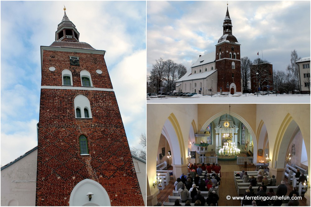 st simons church valmiera