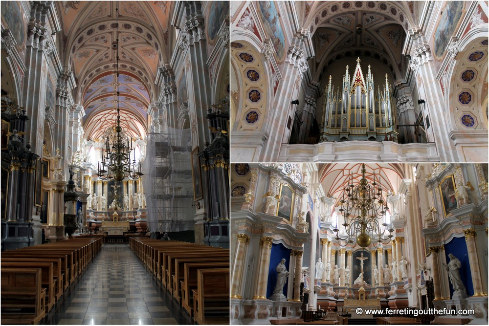 Kaunas Cathedral interior