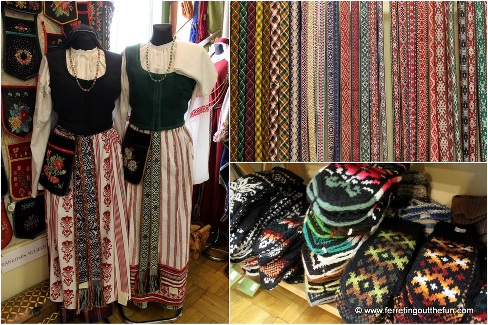 Traditional Lithuanian costumes