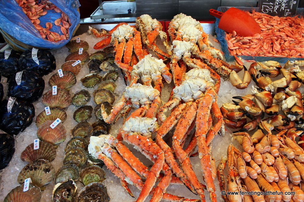 Fresh Seafood in Bergen Norway