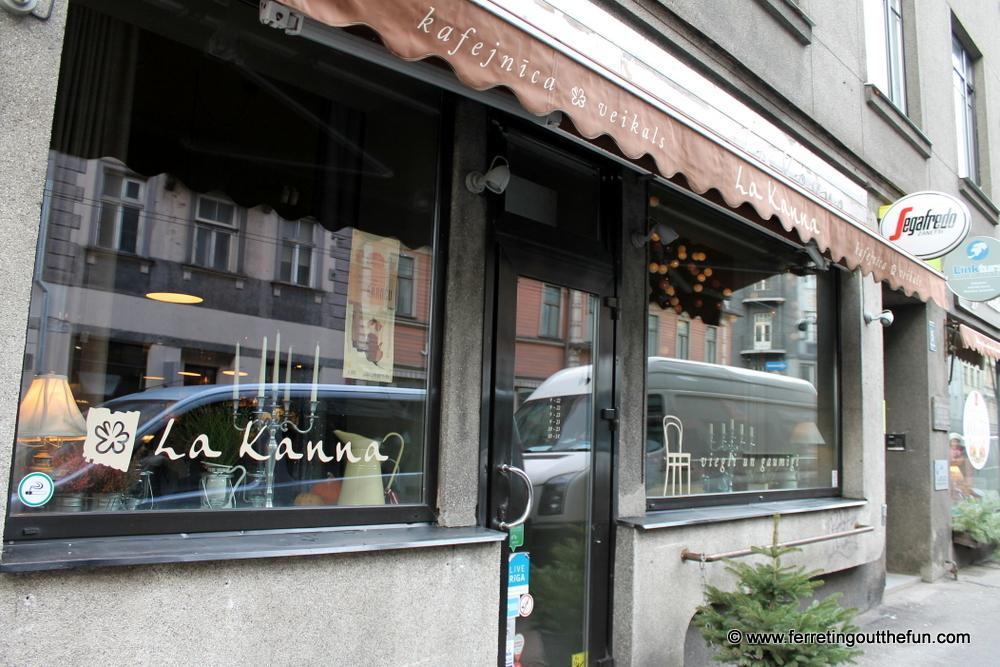 La Kanna Cafe Riga