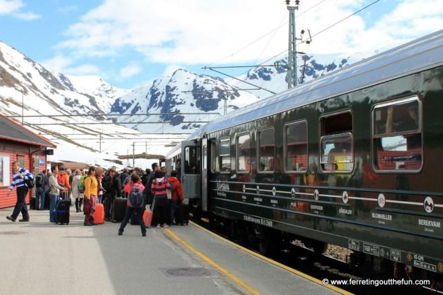 Myrdal Train Station, Norway