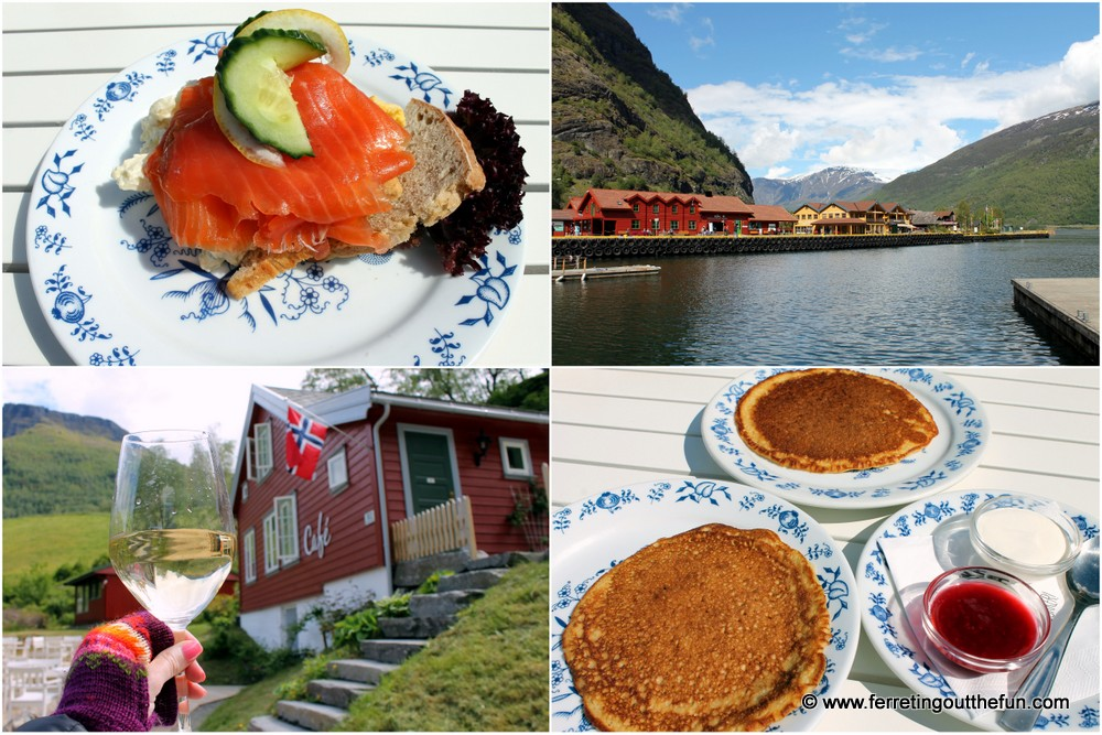 Lunch in Flam Norway