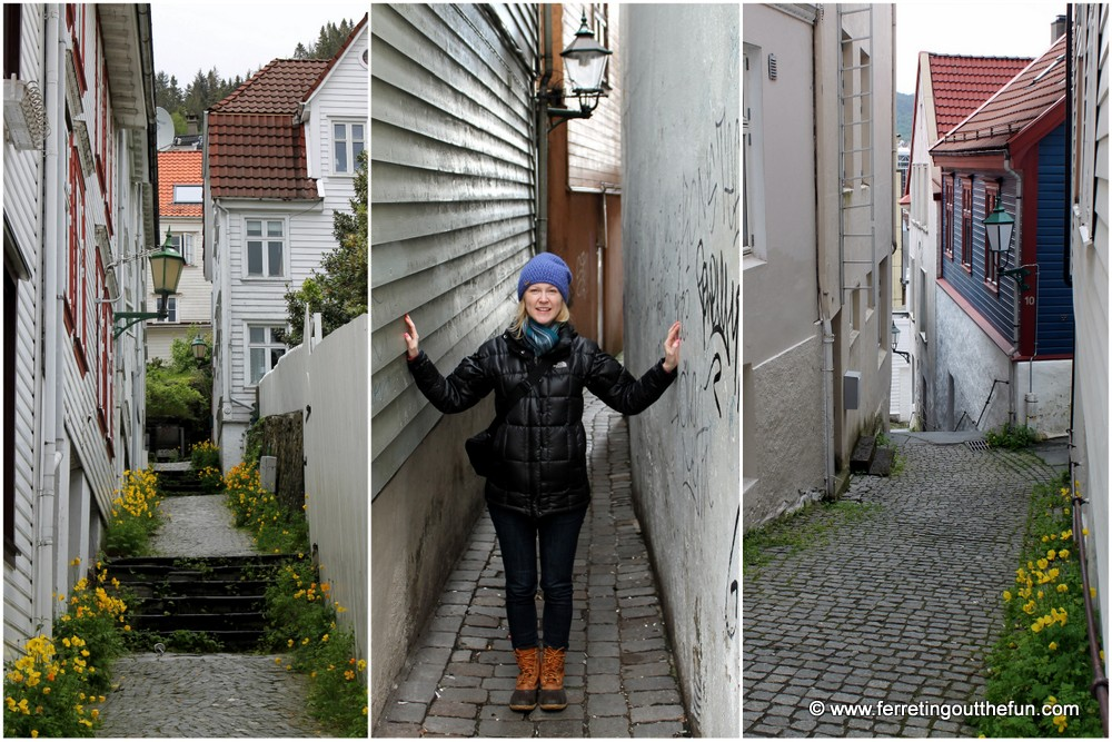 Bergen Norway Alleyways