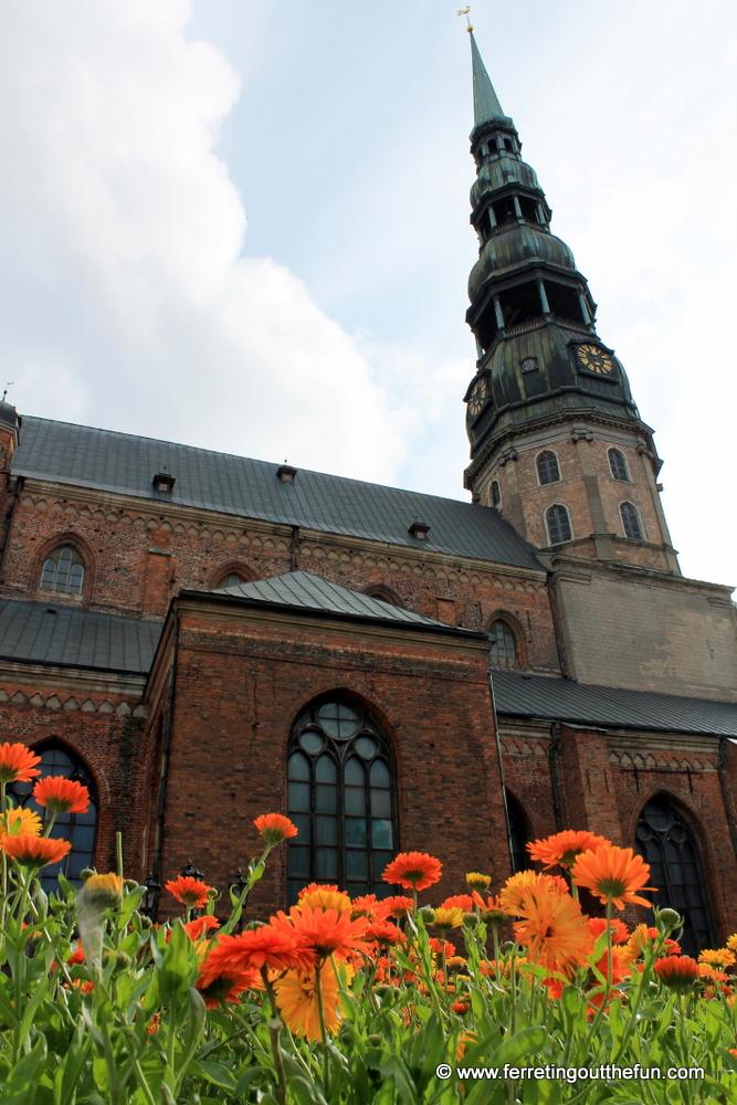 Riga St Peter's Church
