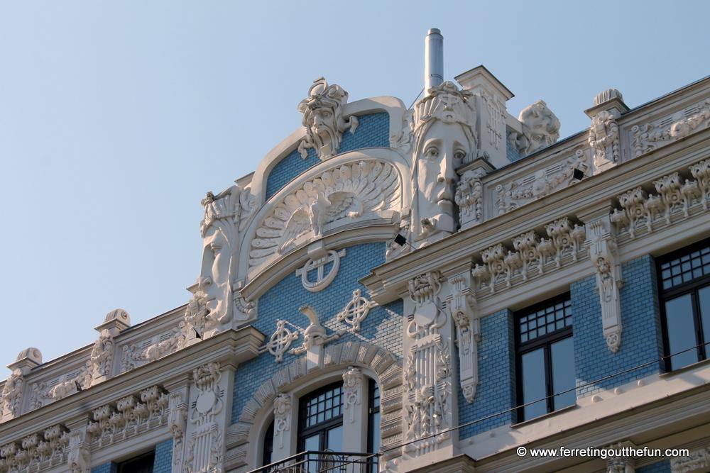 Riga Art Nouveau Architecture