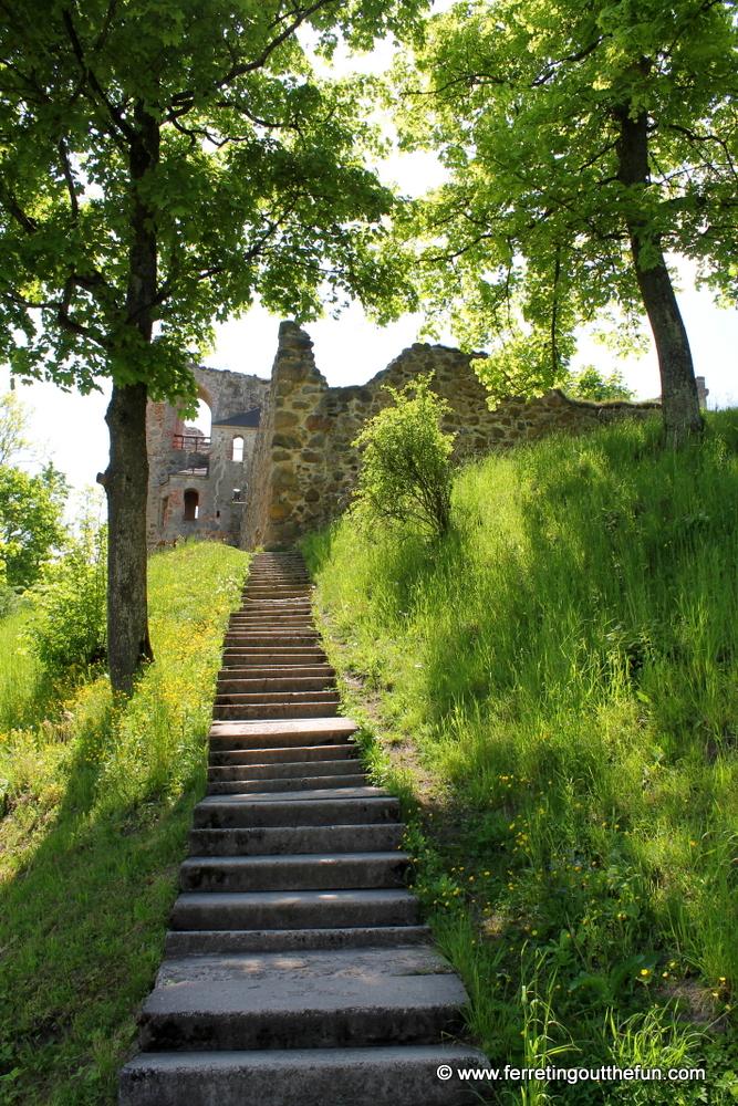 Dobele, Latvia Castle Ruins