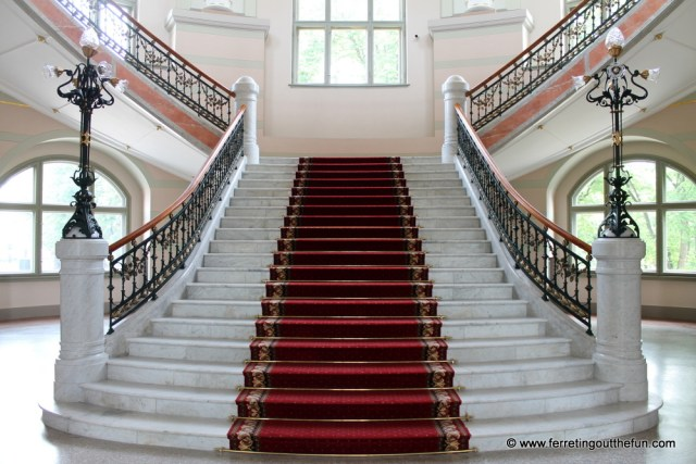 Latvian Museum of Art Staircase