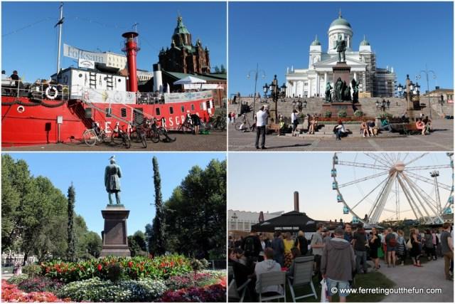 Helsinki in summer