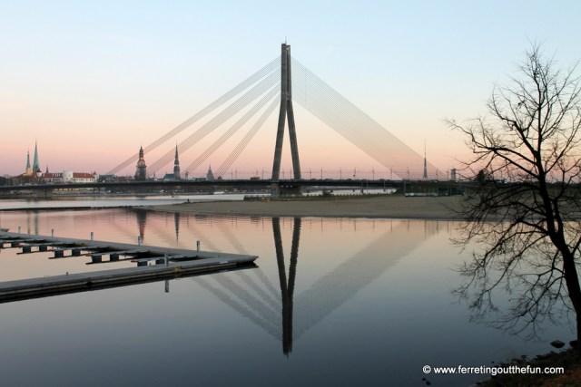 View of Riga from Kipsala Island