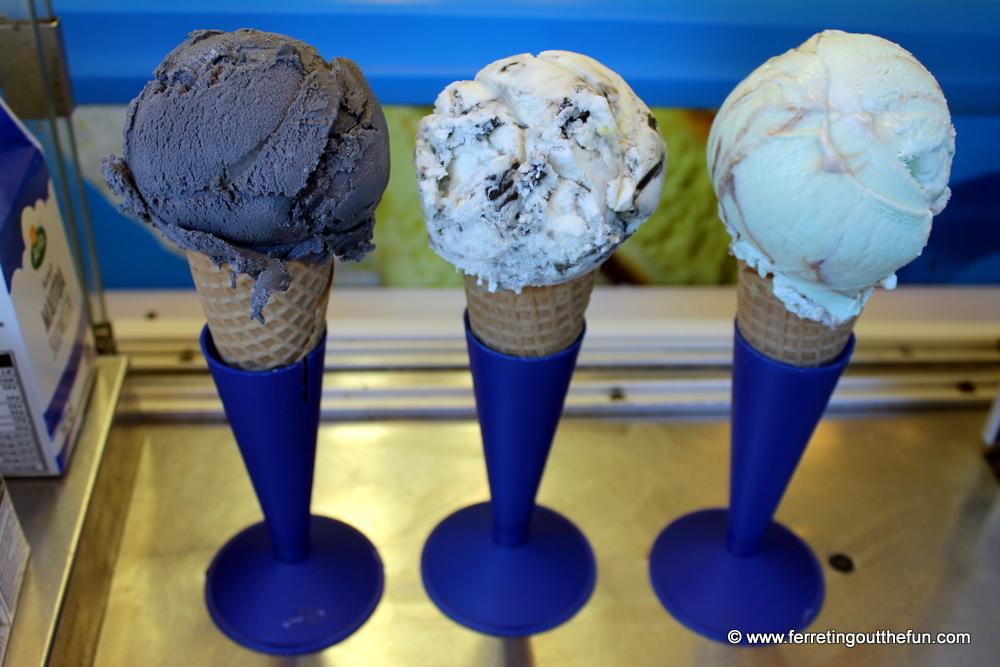 Finnish Salmiakki Ice Cream