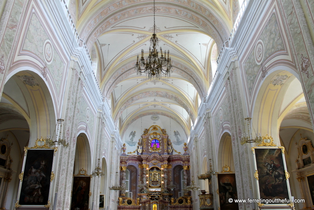 Aglona Basilica interior