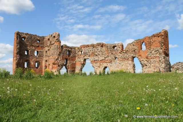 Ludza Castle Ruins