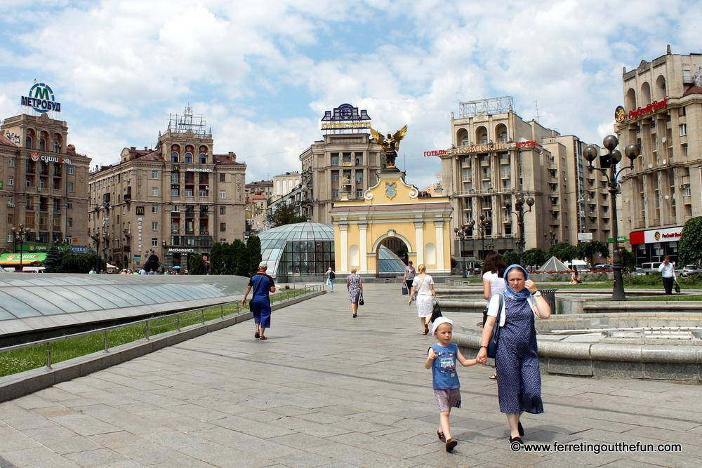Kyiv Maidan Square