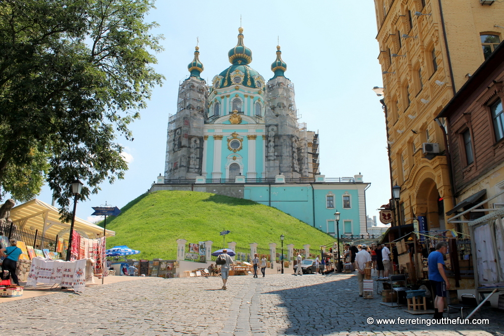 St Andrews Church Kyiv