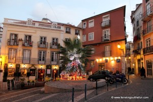 A Merry and Bright Christmas in Lisbon, Portugal
