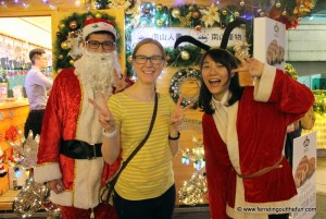 Celebrating Christmas in Taipei, Taiwan