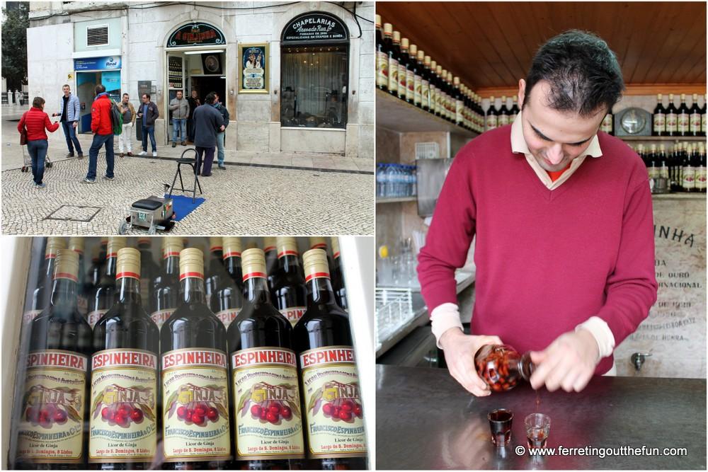 Lisbon A Ginjinha Bar