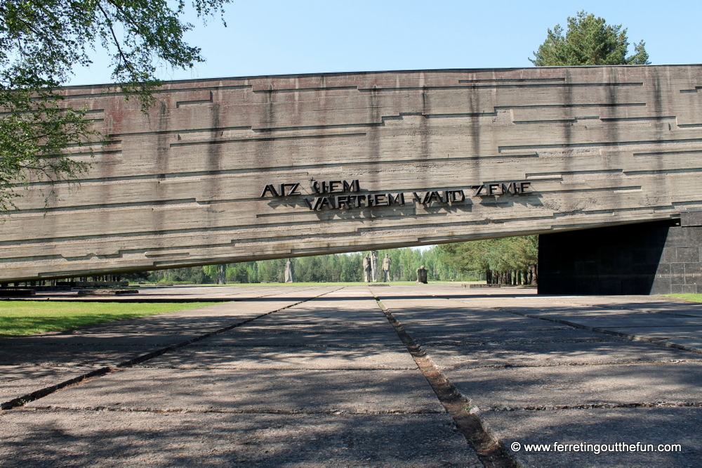 Salaspils Memorial Latvia