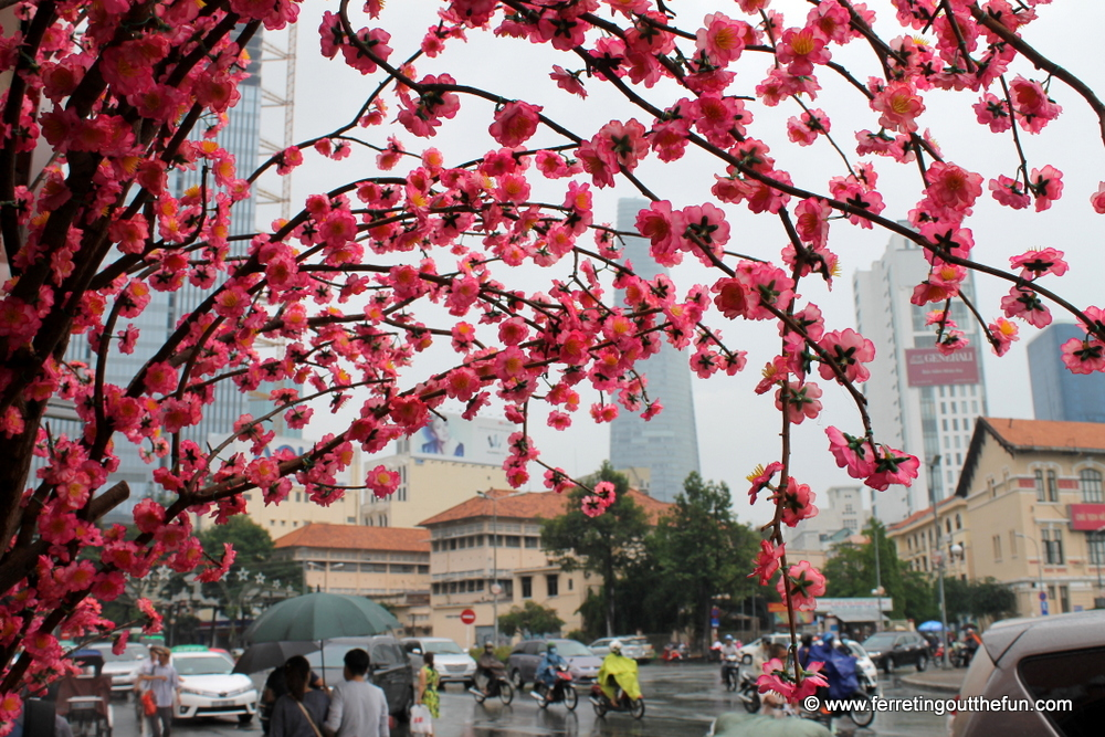 tet decorations saigon