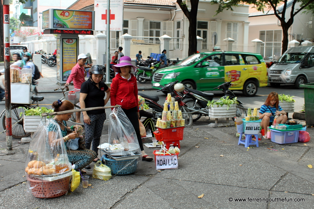 ho chi minh city street food