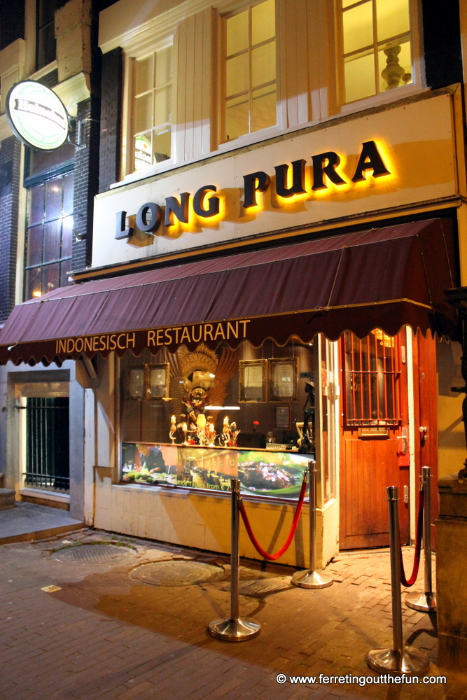 Long Pura Indonesian Restaurant Amsterdam