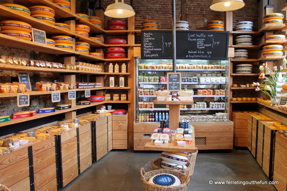 amsterdam cheese shop