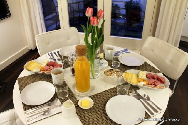 b&b keizers canal breakfast